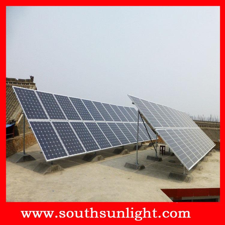 1000-5000W家用太阳能发电系统