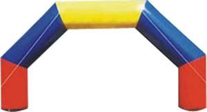 厂家供应珠海澳门充气广告拱门 开业庆典用品  定制广告拱门