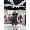 杭州品牌女装简单主题新款连衣裙专柜同步供折扣批发走份