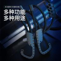厂家直销 车载多功能伸缩晾衣绳 创意户外旅行便携式挂钩晾衣绳