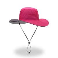 轻薄防紫外线遮阳帽春夏季新款户外沙滩出游大沿帽厂家直供